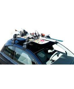 Porte-skis sur barre de toit